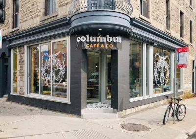 Installation de plomberie au Columbus Café à Montréal - Plomberie MG Service