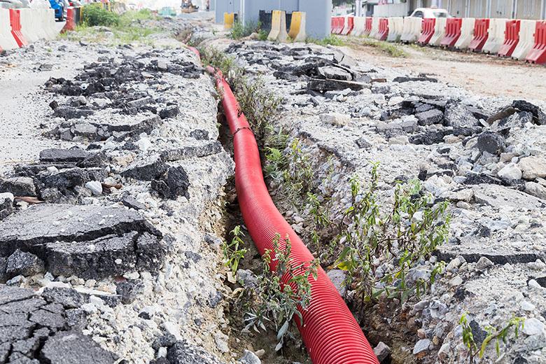 Raccordement d'égout et d'entrée d'eau potable à Vaudreuil-Dorion - Plomberie M-G SERVICE inc. à Les Côteaux
